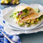 Grilled Crab and Avocado Quesadillas with Pineapple Cilantro Salsa