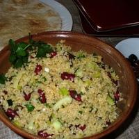 Bulgur and Bean Salad