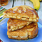 Peanut Butter & Banana French Toast