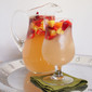 White Sangria Recipe with Peaches & Strawberries