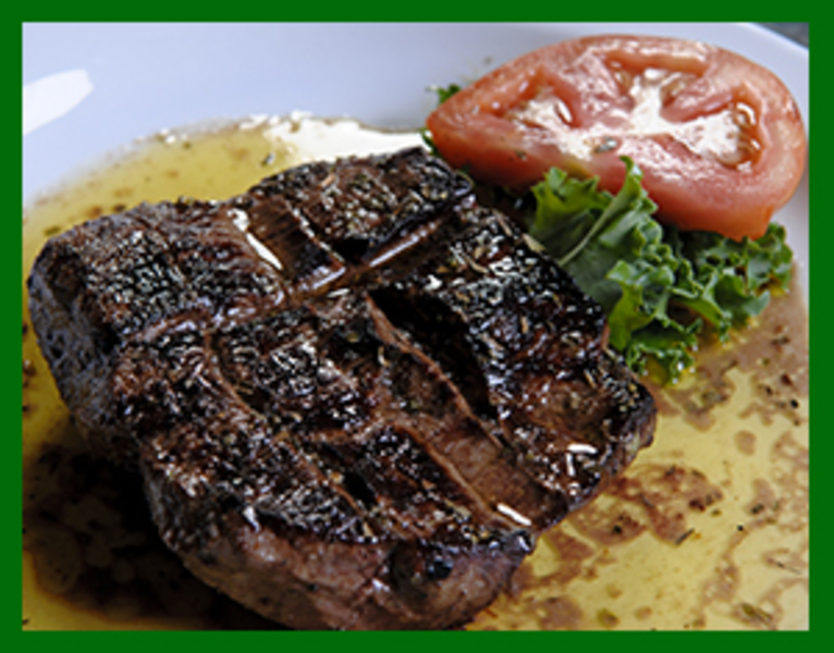 Best Greek beef tenderloin!