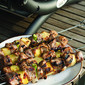 Fell In Love With a Grill: Jerk Pork and Pineapple Skewers