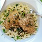 Wine-Braised Chicken with Garlic and Capers