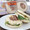 Prosciutto and Basil Pesto English Muffin Panini