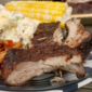 Apple Barbecue Grilled Ribs + #GrillPorkSweeps Giveaway!