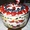 Red White & Blue Berry Trifle