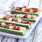 Greek Salad Cucumber Boats