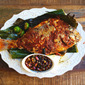 Grilled Fish Stuffed With Sambal
