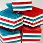 Red, White & Blue Layered Finger Jello