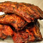 Barbecued Ribs; still hot and snarky