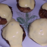 Stuffed Mushrooms with Hollandaise