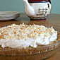 Coconut Cream Pie~ Secret Recipe Club