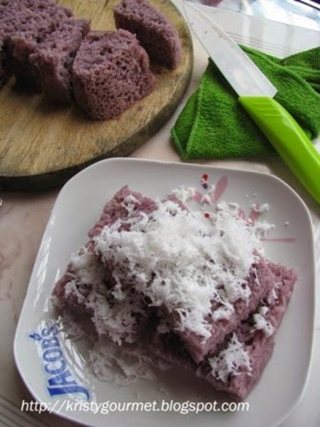 Asian Steamed Sweet Potato Cake