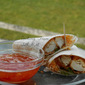 Sweet Chili Chicken Wraps~ Guest Post