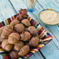 Bacon Wrapped Creamer Potatoes