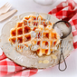 Spelt and Almond Waffles, being at home in the whole food kitchen . . .