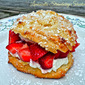 Weekend Gourmet Flashback: Limoncello Strawberry Shortcake