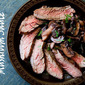Skirt Steak With Mushroom Sauce