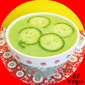 Cucumber Avocado Detox Soup