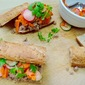 Vietnamese-Style Tuna Rolls with Pickled Vegetables