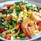 Grilled Shrimp and Summer Salad