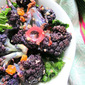 Purple Cauliflower, Kale & Quinoa Salad