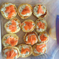 Best Blinis That I Have Made - Topped with Yummy Cream Cheese and Smoked Salmon
