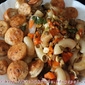 Stir fried Macaroni with vegetables and chicken sausage
