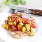 Grilled Pork Chops with Peach Salsa Recipe