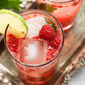 Berry, Berry Quite Contrary: Raspberry Mojitos (and Mint-Lime Simple Syrup)
