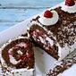 Black Forest Roll Cake~ Celebrating 7 yrs of Blogging!!