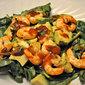 Shrimp, Avocado and Spinach Salad, one cake, two cake….