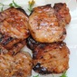 Grilled Pork Chops with Apricot-Sherry Glaze
