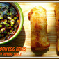 Asian Cuisine #SundaySupper...Featuring Shrimp Rangoon Egg Rolls with Honey-Soy Dipping Sauce