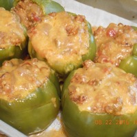 Stuffed Peppers - Mexican Taco Style