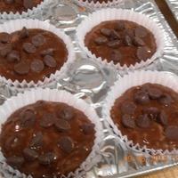 Double Chocolatey Zucchini Muffins