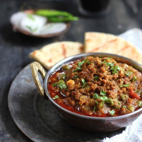 Keema Matar Recipe (Mutton Mince with Peas)