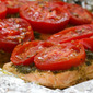 Foil-Baked Salmon Recipe with Basil Pesto and Tomatoes (Low-Carb, Gluten-Free)