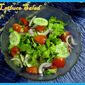 Lettuce Salad Recipe / Vegetable Salad Recipe / Lettuce Salad
