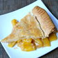 Easy Peach Mango Pie