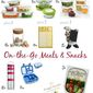 Back to School Meal Prep and Storage