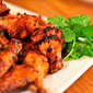 Grilled Sriracha Hot Wings
