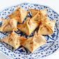 Baked Tart Cherry & Cream Cheese Wontons Recipe