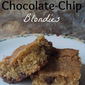 One Bowl Chocolate-Chip Blondies
