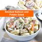 Smoked Salmon and Potato Salad