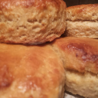 Denese's Corn Flake and Buttermilk Biscuits