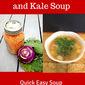 Kohlrabi, Kale, and Lentil Soup