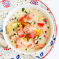 Light Salmon & Potato Chowder Recipe