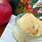 caramelized APPLESAUCE and RUM ice cream