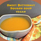 Butternut Squash Soup ( slow cooker)